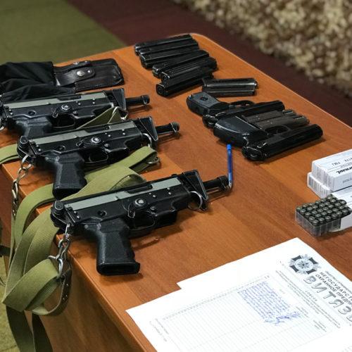 Оружие для частных охранников в тире «Витязь»