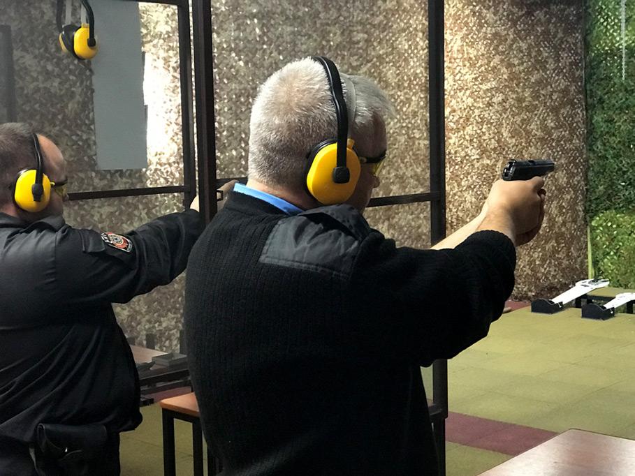 Учебная стрельба в тире «Витязь»
