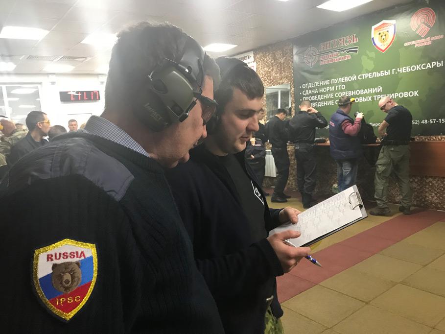 Открытый чемпионат Чувашии по стрельбе из пистолета среди силовых структур