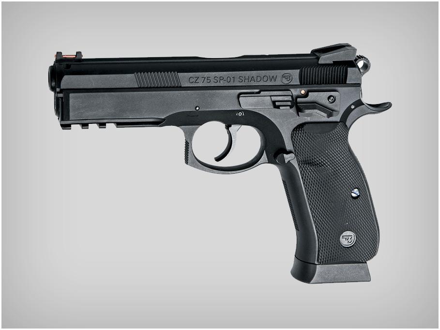 Пистолет CZ (скоро)